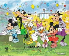 Grenada Block201 (kompl.Ausg.) Postfrisch 1988 Walt-Disney-Figuren - Grenada (1974-...)