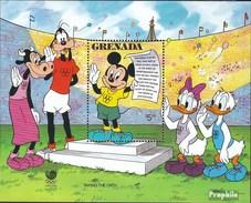 Grenada Block200 (kompl.Ausg.) Postfrisch 1988 Walt-Disney-Figuren - Grenada (1974-...)