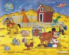 Redonda Block 55 (completa Edizione) MNH 1989 Walt-Disney-Cifre - Montserrat