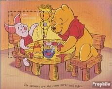 Turks- Und Caicos-Inseln Block 165 (completa Edizione) MNH 1996 Walt Disneys Winnie Il Pooh - Turks & Caicos