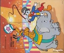 Sierra Leone Block 288 (completa Edizione) MNH 1996 Walt-Disney-Cifre In Circus - Sierra Leone (1961-...)