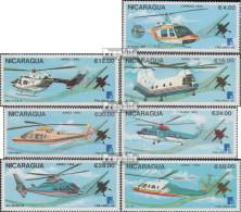 Nicaragua Mi.-Nr.: 2879-2885 (kompl.Ausg.) Postfrisch 1988 Hubschrauber - Nicaragua