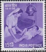 Indien 301 (completa Edizione) MNH 1958 Bambini - 1950-59 República