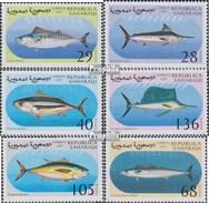 Sahara Ausgabe Der Exilregierung Ohne Gültigkeit Im Int. Postverkehr Nr.19 Postfrisch 1997 Fische - Spanish Sahara