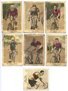 7 PETITES IMAGES - PHOTOS CYCLISME-TOUR DE FRANCE - Cycling