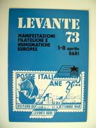 BARI - - ANNULLO FIERA DEL LEVANTE 1973  PRIMERO  MAXIMUM FDC  PRIMO GIORNO  POSTCARD FIRST DAY - Fiere