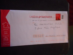ENVELOPPE PAP Prioritaire - PAP: Sonstige (1995-...)