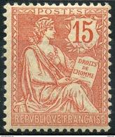 France (1902) N 125 * (Charniere) - Ungebraucht