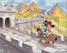 Bhutan Block308 Postfrisch 1991 Walt-Disney-Figuren - Bhutan
