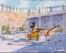 Bhutan Block302 Postfrisch 1991 Walt-Disney-Figuren - Bhutan