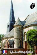 Carte Postale, Eglises, Churches Of Europe, France (Aisne), Agnicourt, Église Saint-Médard - Kerken En Kathedralen