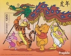 Guyana Block574 (completa Edizione) MNH 1998 Walt Disney Cifre - Guyana (1966-...)
