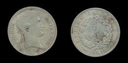 FAUSSE PIECE DE 5 FRANCS NAPOLEON I . 1812B . - J. 5 Francs