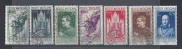 VATICAN - 1936 - Série 72/79 - Oblitérés - (Sauf 79) Cote 95 € - B/TB - - Vaticaanstad