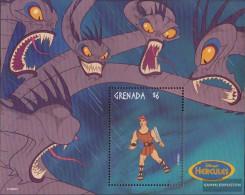 Grenada Block490 (complete.issue.) Unmounted Mint / Never Hinged 1998 Walt-Disney-Zeichentrickfilm - Grenada (1974-...)