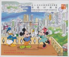 Grenada Block445 (complete.issue.) Unmounted Mint / Never Hinged 1997 Walt-Disney-Figures In Hong Kong - Grenada (1974-...)