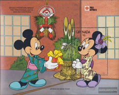 Grenada Block276 (complete.issue.) Unmounted Mint / Never Hinged 1991 Walt-Disney-Figures In Japan - Grenada (1974-...)