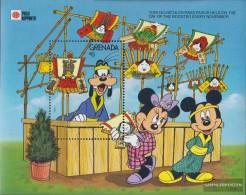Grenada Block275 (complete.issue.) Unmounted Mint / Never Hinged 1991 Walt-Disney-Figures In Japan - Grenada (1974-...)