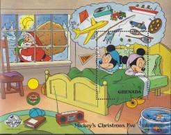 Grenada Block215 (complete.issue.) Unmounted Mint / Never Hinged 1988 Walt-Disney-Figures: Micky Maus - Grenada (1974-...)