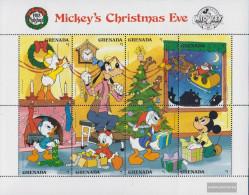Grenada 1911-1918 Sheetlet (complete.issue.) Unmounted Mint / Never Hinged 1988 Walt-Disney-Figures: Micky Maus - Grenada (1974-...)