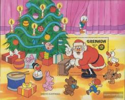 Grenada Block166 (complete.issue.) Unmounted Mint / Never Hinged 1986 Walt-Disney-Figures - Grenada (1974-...)