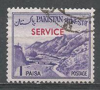 Pakistan 1961. Scott #O76 (U) Khyber Pass - Pakistan