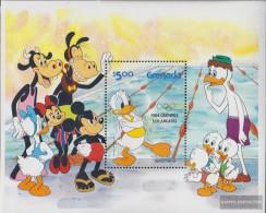 Grenada Block118II (complete.issue.) Unmounted Mint / Never Hinged 1984 Walt-Disney-Figures - Grenada (1974-...)