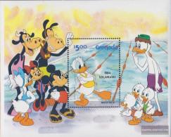 Grenada Block118I (complete.issue.) Unmounted Mint / Never Hinged 1984 Walt-Disney-Figures - Grenada (1974-...)
