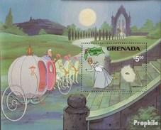 Grenada Block98 (complete.issue.) Unmounted Mint / Never Hinged 1981 Walt-Disney-Figures - Grenada (1974-...)
