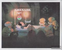 Grenada Block92 (complete.issue.) Unmounted Mint / Never Hinged 1980 Snow - Grenada (1974-...)