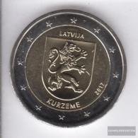 Latvia 2017 Stgl./unzirkuliert Reprint: 530.000 Stgl./unzirkuliert 2017 2 Euro Kurland - Latvia