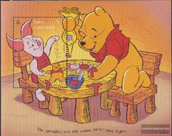 Turks- And Caicos-Islands Block165 (complete.issue.) Unmounted Mint / Never Hinged 1996 Walt Disneys Winnie The Pooh - Turks And Caicos