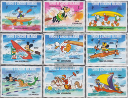 Turks- And Caicos-Islands 675I A-683I A (complete.issue.) Unmounted Mint / Never Hinged 1984 Walt-Disney-Figures - Turks And Caicos