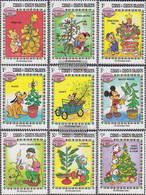 Turks- And Caicos-Islands 648-656 (complete.issue.) Unmounted Mint / Never Hinged 1983 Christmas: Walt-Disney-Figures - Turks And Caicos