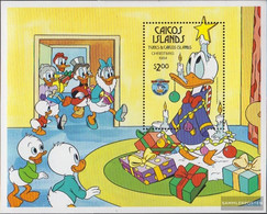 Caicos-Islands Block7 (complete.issue.) Unmounted Mint / Never Hinged 1984 Walt-Disney-Figures - Turks And Caicos