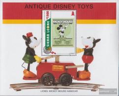 Sierra Sierra Leone Leone Block283 (complete Issue) Unmounted Mint / Never Hinged 1995 Old Walt-Disney-Toys - Sierra Leone (1961-...)