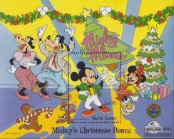 Sierra Sierra Leone Leone Block85 (complete Issue) Unmounted Mint / Never Hinged 1988 Walt-Disney-Figures - Sierra Leone (1961-...)