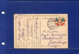 """##(YEL1)- Cartolina Postale In Franchigia R.esercito Annullo """"3/7/1915 Posta Militare 30^  Divisione """" Per Piacenza - Poststempel"""