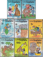 Togo 1468-1475 (complete Issue) Unmounted Mint / Never Hinged 1980 Walt-Disney-World - Togo (1960-...)