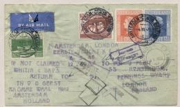 Nederland - 1946 - 1e KLM Flight Amsterdam - London - Periode 1891-1948 (Wilhelmina)