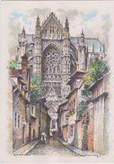 Carte Postale       BARRE  DAYEZ   BEAUVAIS    LA CATHEDRALE     2047 E - Beauvais