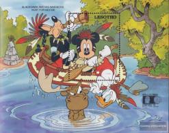 Lesotho Block89 (complete Issue) Unmounted Mint / Never Hinged 1992 Walt-Disney-Figures - Lesotho (1966-...)