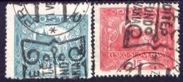 Tschechoslowakei, Ceskoslovensko, Czechoslovakia, Tchécoslovaquie 1919, SG 38, 40, YT 30, 32 - Tsjechoslowakije