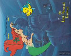 Guyana Block592 (complete Issue) Unmounted Mint / Never Hinged 1999 Walt Disney Zeichentrickfilm - Guyana (1966-...)