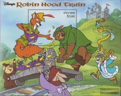 Guyana Block590 (complete Issue) Unmounted Mint / Never Hinged 1999 Walt Disney Zeichentrickfilm - Guyana (1966-...)
