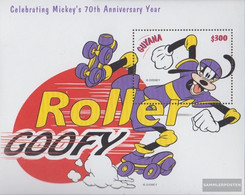 Guyana Block588 (complete Issue) Unmounted Mint / Never Hinged 1999 Walt Disney FIG: Micky Maus - Guyana (1966-...)