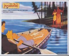 Guyana Block475 (complete Issue) Unmounted Mint / Never Hinged 1995 Walt Disney Zeichentrickfilm - Guyana (1966-...)