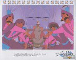 Guyana Block370 (complete Issue) Unmounted Mint / Never Hinged 1993 Walt Disney Zeichentrickfilm - Guyana (1966-...)