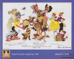 Guyana Block367 (complete Issue) Unmounted Mint / Never Hinged 1993 Donald Duck Kurzfilme - Guyana (1966-...)