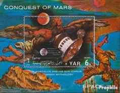 North Yemen (Arab Republic.) Block165 (complete.issue.) Unmounted Mint / Never Hinged 1971 Conquest Of Mars - Yemen